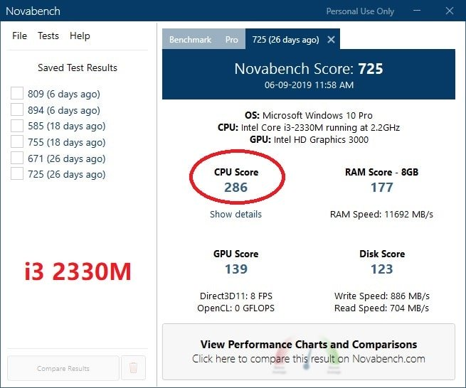 laptop cpu upgrade from i3 to i7