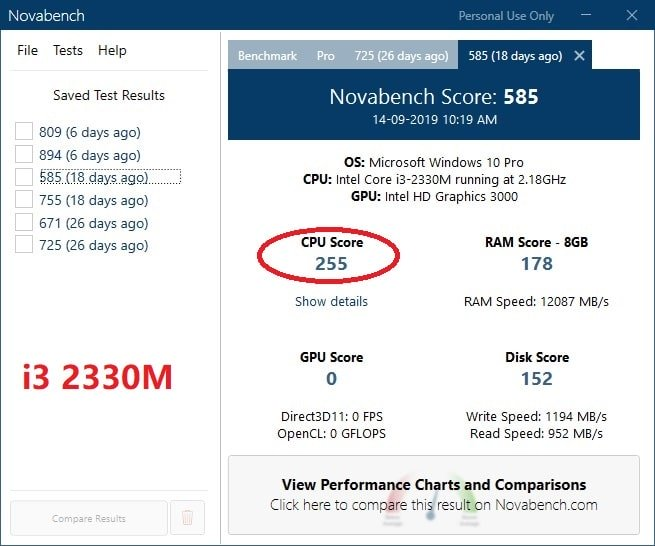 laptop cpu upgrade from i3