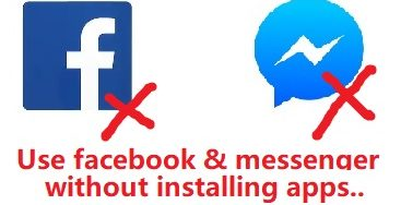 facebook without app