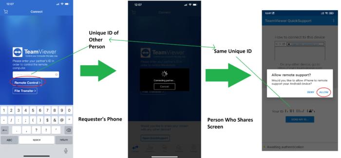 Easy way to share phone screen anywhere