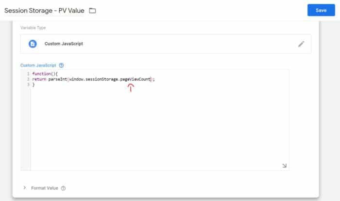 tag execute after 2nd pageview