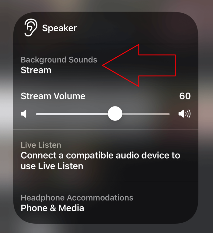 Background sounds feature is so cool in iOS 15